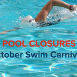 friends pool swim carnivals october