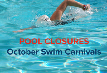 Swim Carnival Pool Closures