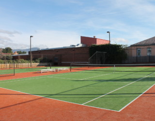 Friends Health & Fitness Tennis Courts