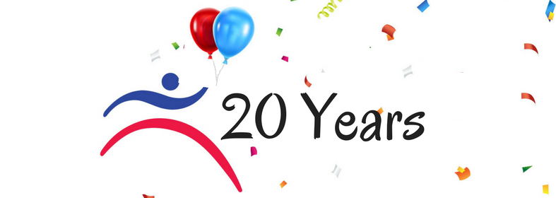 20 Years FB image - Friends Health & Fitness